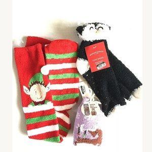 ❤️3 Pair Christmas Slip Resistance Cozy Socks